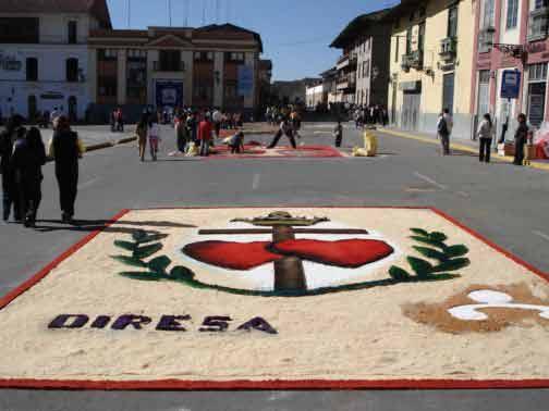 Cajamarca Turismo Alfombras De Corpus Christi