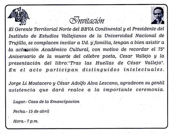 Invitaciones 2013